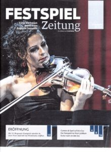 thumbnail of Festspielzeitung